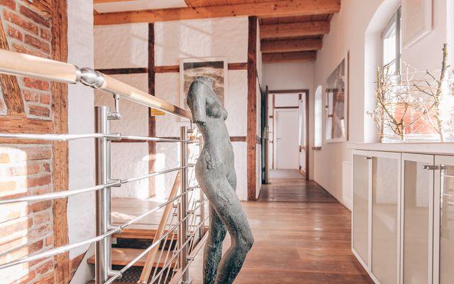 Biohotel Kunstquartier: Treppenhaus Altbau