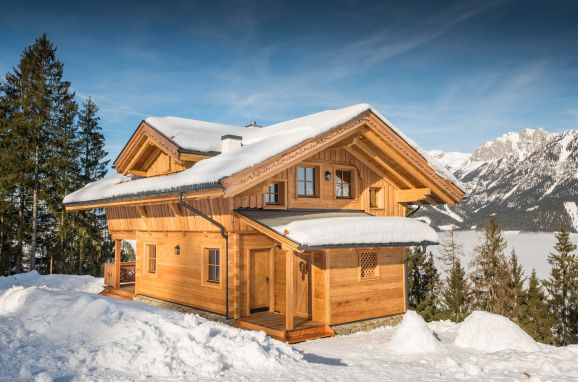 Winter, Prenner Alm in Haus im Ennstal, Steiermark, Steiermark, Österreich