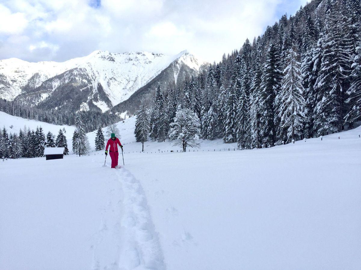 Schneeschuhwandern und Genuss