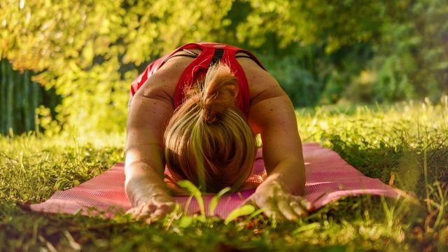Yoga und Wandern