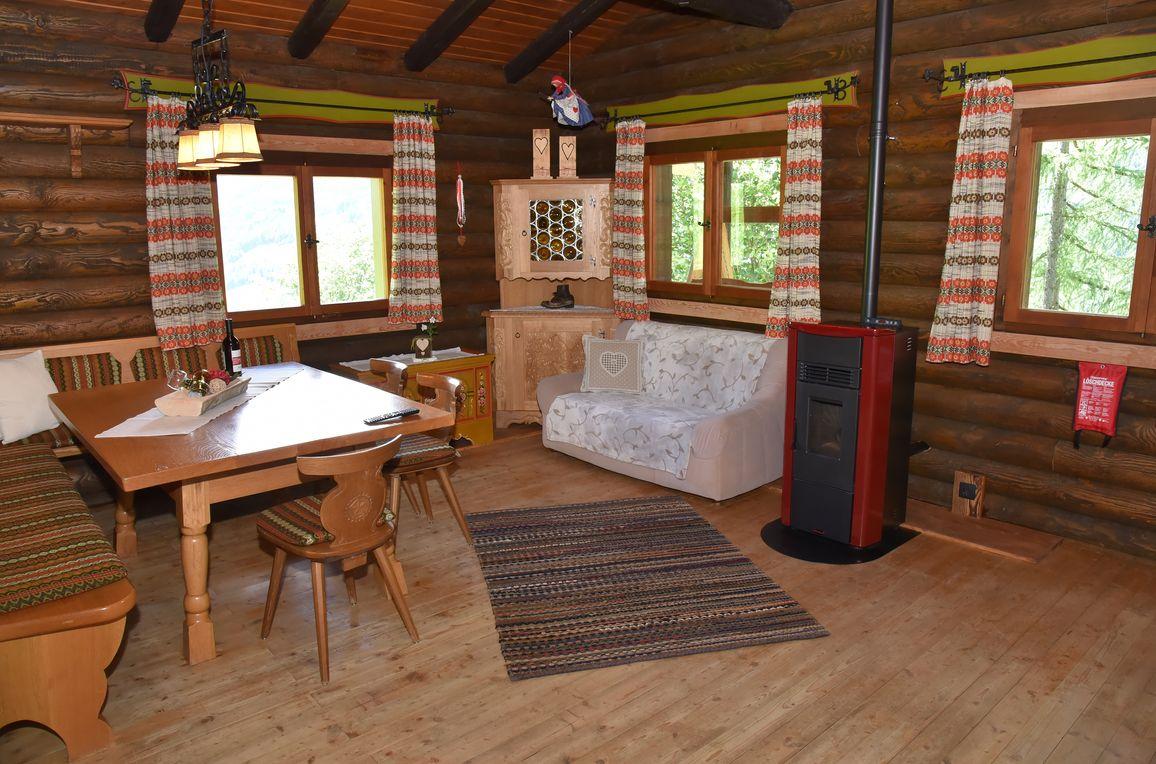 Berghütte Ahrntal, Wohnstube