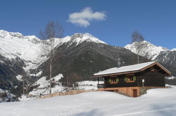Winter, Berghütte Ahrntal, St. Johann im Ahrntal, Südtirol, Trentino-Südtirol, Italien