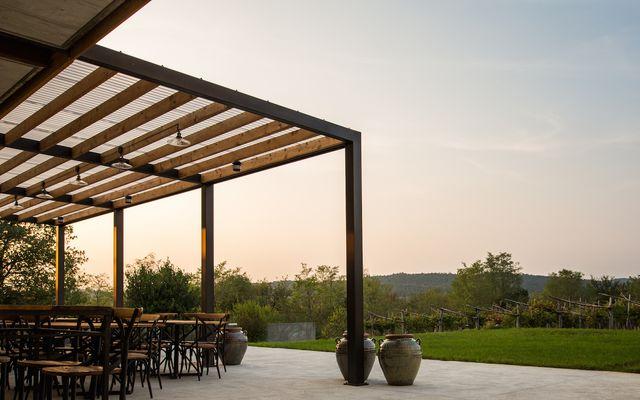 Biohotel St. Daniel: Herrlicher Ausblick auf die Weinfelder