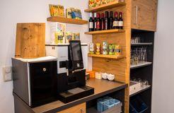 Biohotel Schratt: Kaffee- & Teebar - Berghüs Schratt, Oberstaufen-Steibis, Allgäu, Bayern, Deutschland