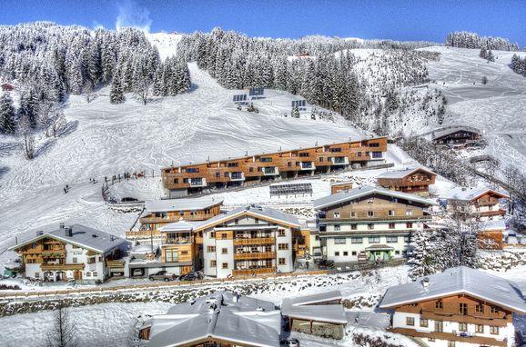 Winter, Bachgut Luxus Suite A in Saalbach-Hinterglemm, Salzburg, Salzburg, Austria
