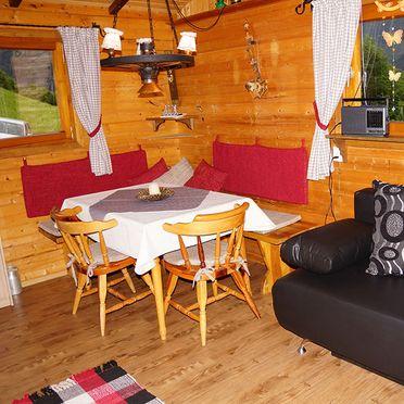 Schwammerlhütte, Wohnstube