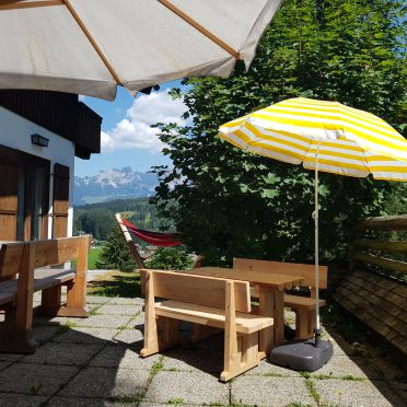 seating, Almhaus Grubhof in St. Martin, Salzburg, Salzburg, Austria