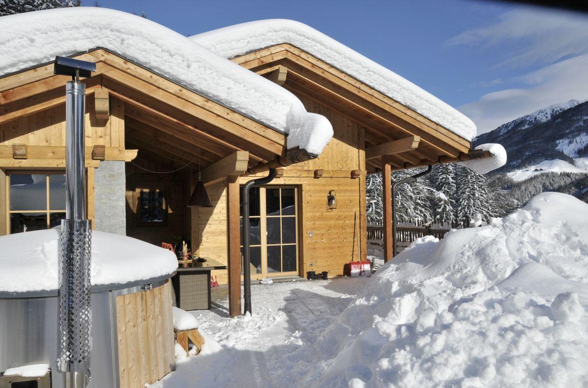 Bergchalet Wolfskofel , winter