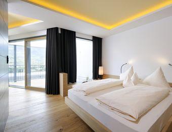 Suite Panorama Meranblick - Bio- und Wellnesshotel Pazeider