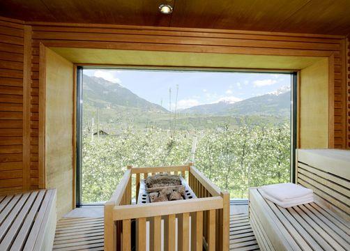 Biohotel Pazeider: Wellnessbereich - Bio- und Wellnesshotel Pazeider, Marling bei Meran, Trentino-Südtirol, Italien