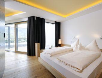 Panorama Suite Merano view - Bio- und Wellnesshotel Pazeider