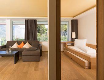 Suite south balcony - Bio- und Wellnesshotel Pazeider