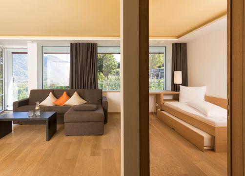 Suite south balcony (1/4) - Bio- und Wellnesshotel Pazeider