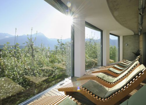 Bio- und Wellnesshotel Pazeider, Marling bei Meran, Alto Adige, Italy (10/23)