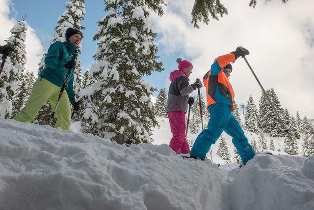 Firn Skifahren