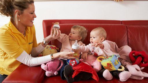 Alles da, was Babys glücklich macht in der exklusiven Babyclub-Lounge.