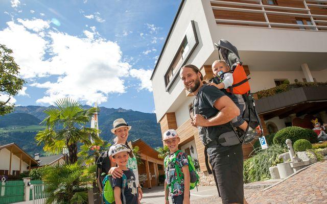 Wandern mit der Familie in Tyrol
