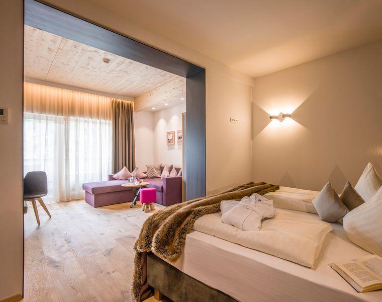 Doppel- & Einzelzimmer: Doppelzimmer Sonnblick