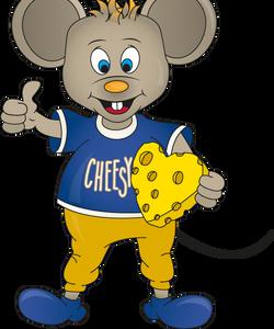 Mascot Cheesy