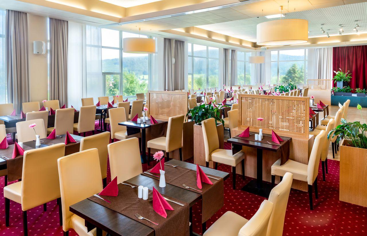 AHORN Berghotel Friedrichroda HP_Restaurant - Familienhotel