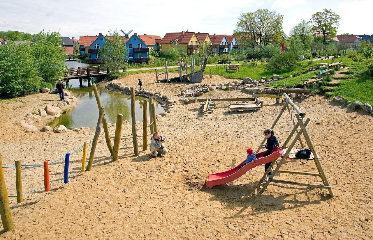 Dorfhotel Spielplatz