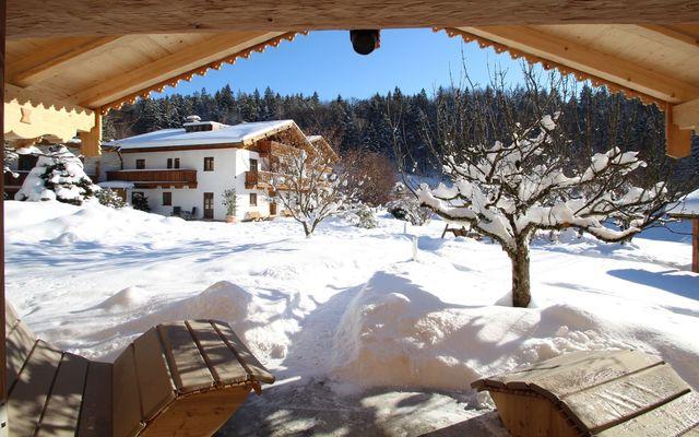Hotel Seeblick bei Bad Reichenhall im Winter
