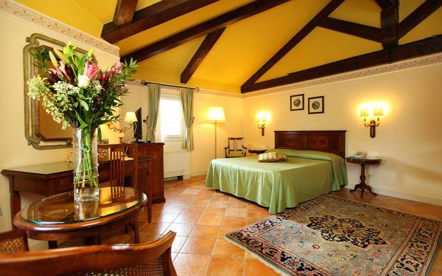 Deluxe Zimmer des Familienhotels in Venetien
