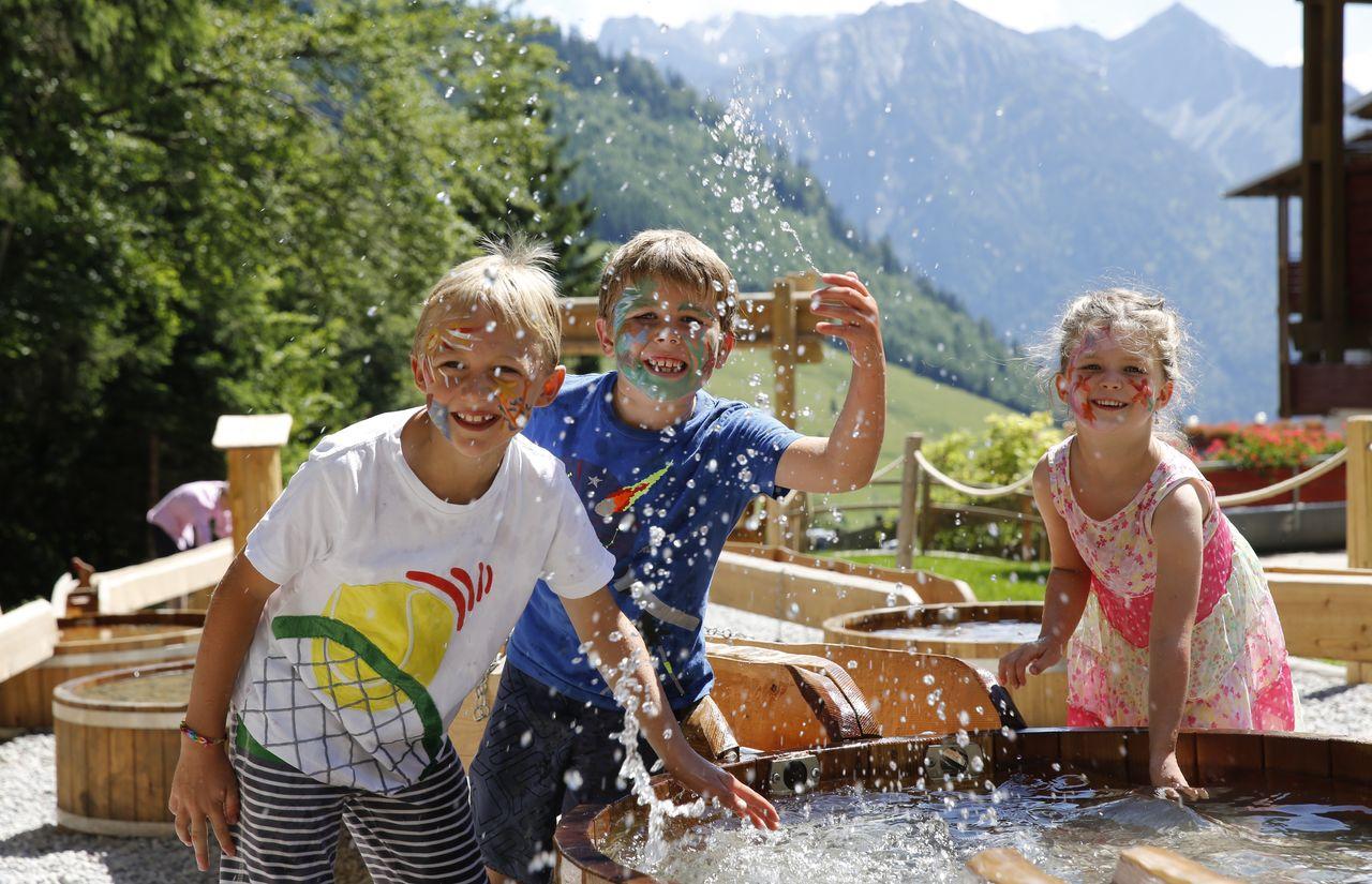 Kinder Wasserspielplatz