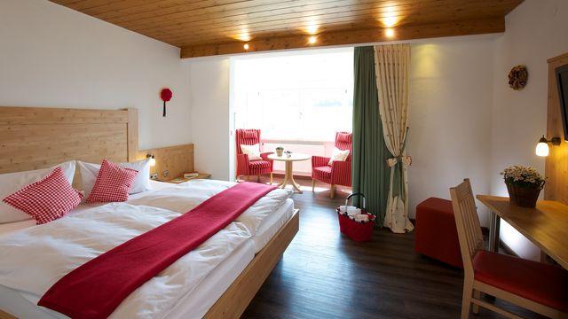 Doppelzimmer Buche  | ab 24 qm - 1 Raum