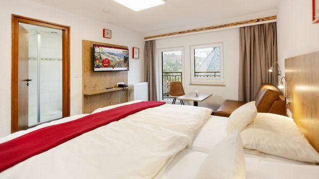 """Familienappartement Stammhaus """"Gemse""""   45 qm - 3 Raum"""