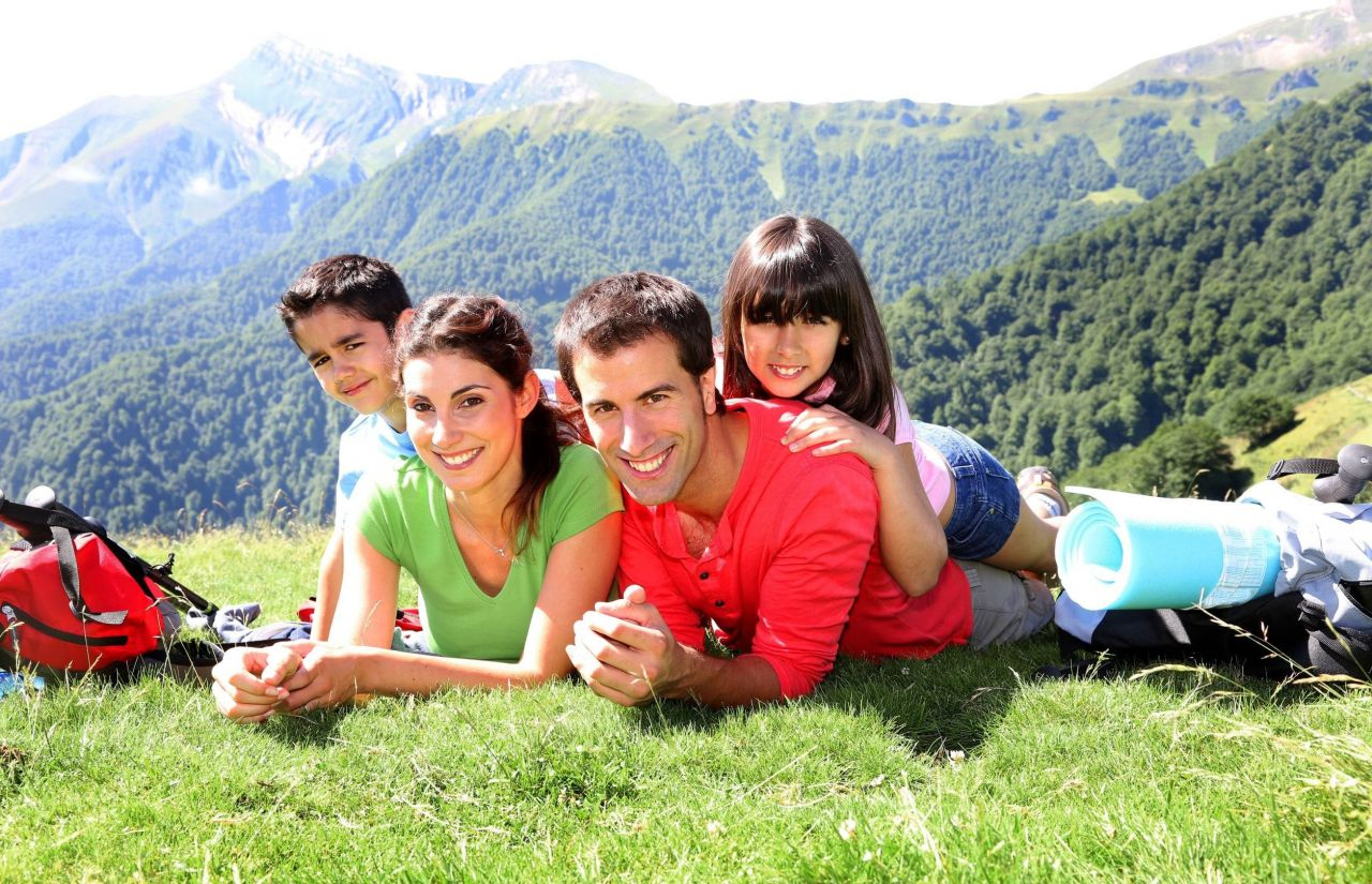 Familienurlaub am sonnigen Hochplateau Tschengla