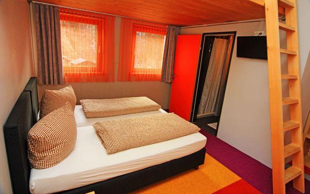 Fünf-Bett-Zimmer des BASEmontafon