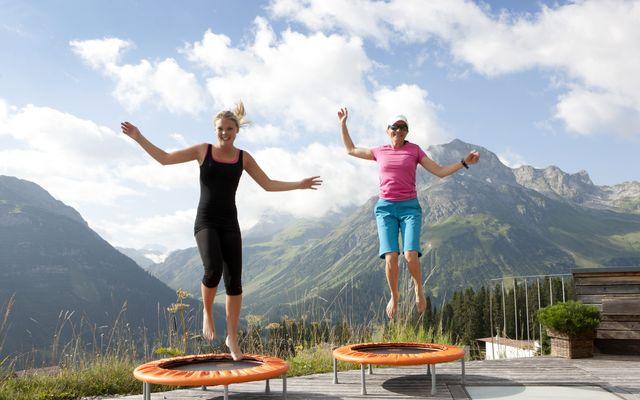 Gesundheits-Urlaub im Goldenen Berg