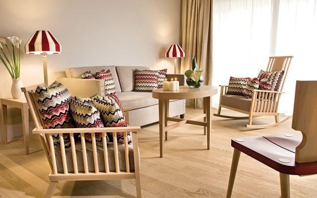 Wohnbereich Ferienwohnung in Werfenweng
