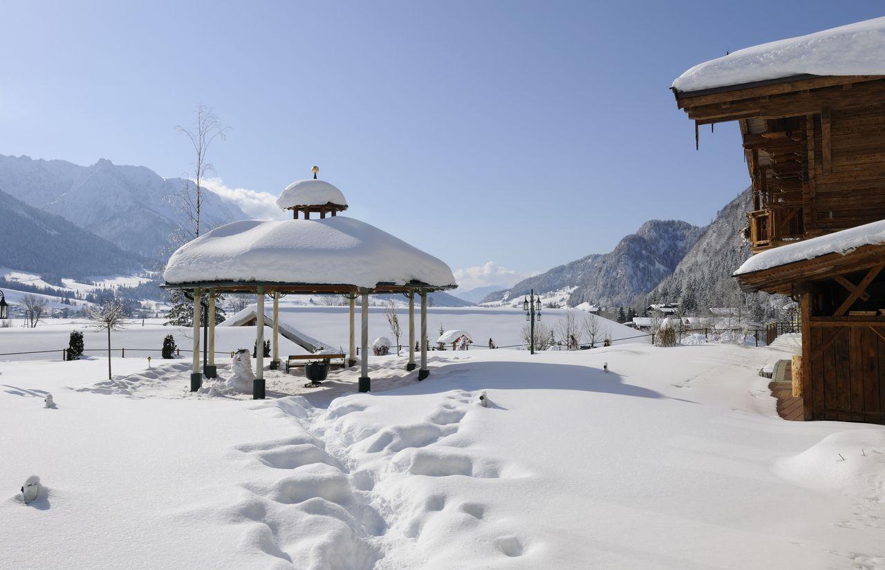Seehof im Winter