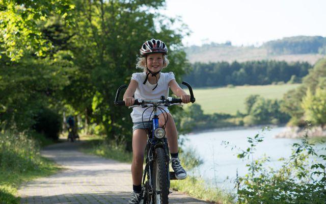 Radfahren, Schwimmen, Segeln, Wandern