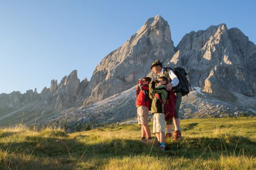 Dolomiti Ranger 2020: little explorers of the Appartment-Hotel Winklwiese on the trail of wild animals