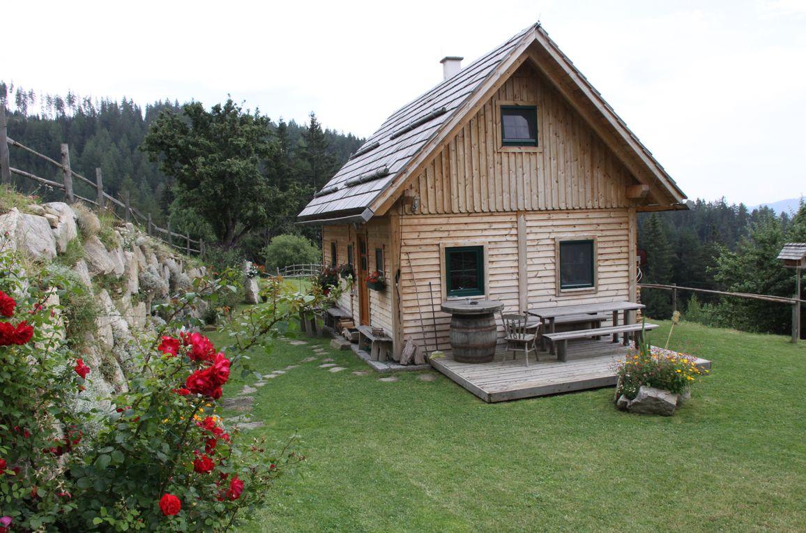 Götschlhütte, summer