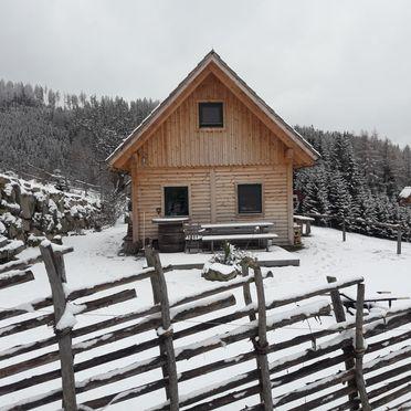 Winter, Götschlhütte in Reichenfels, Kärnten, Kärnten, Österreich