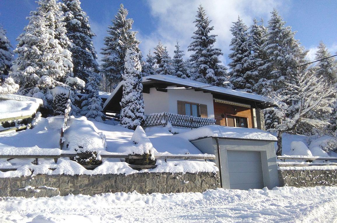 Ferienhaus Hochsonnegg, Winter