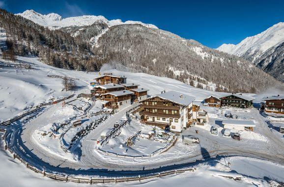 Winter, Grünwald Chalet II, Sölden, Tirol, Österreich