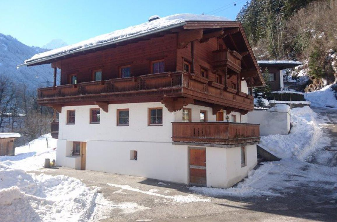 Ferienhaus Kreuzlauhof, Winter