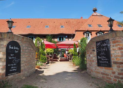 Biohotel Insel Usedom: Herzlich Willkommen - Gutshof Insel Usedom, Mellenthin, Mecklenburg-Vorpommern, Deutschland
