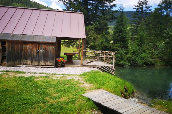 Hütte Almparadies, Sommer
