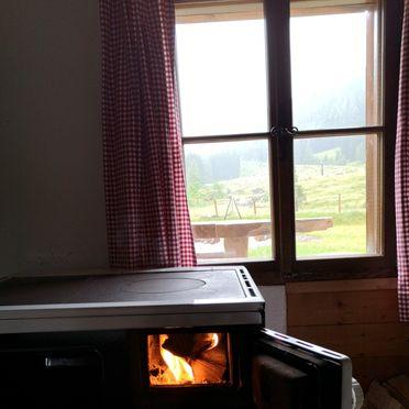 Ofen, Hütte Almparadies in Forstau, Salzburg, Salzburg, Österreich
