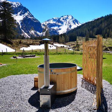HotPot mit Aussicht, Hütte Almparadies in Forstau, Salzburg, Salzburg, Österreich