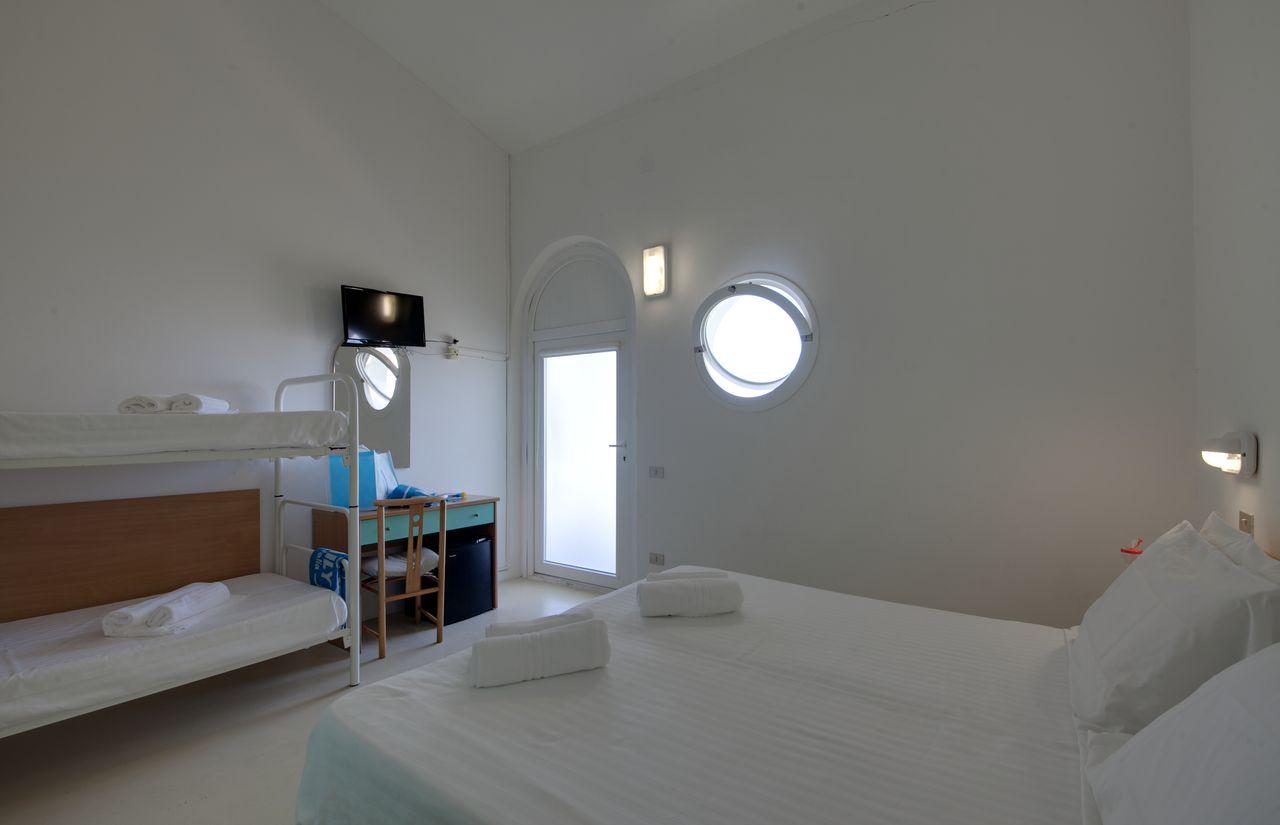 Geräumige Familienwohnungen des fabilia Family Resort Marotta