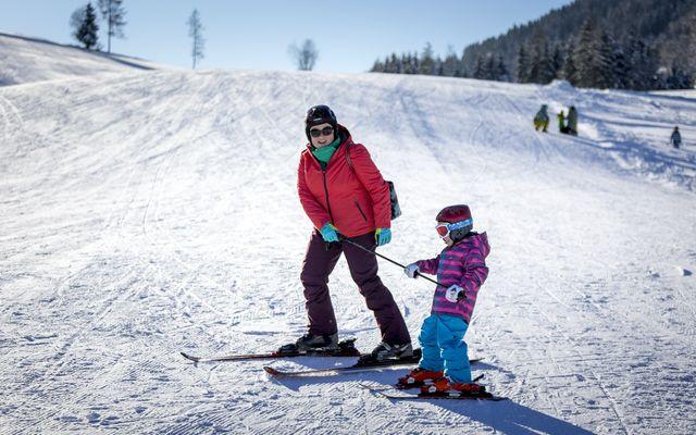 Kinder-Skikarusell direkt am Hotel
