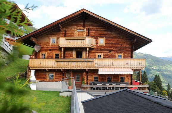 Sommer, Pfundhof in Hippach, Tirol, Tirol, Österreich
