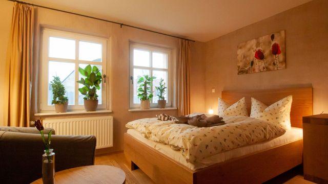 Zimmer im Bio-Gästehaus